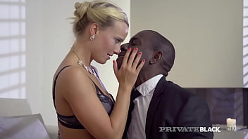 When Victoria Pure needs a taxi, she calls this stud! This way she can give his BBC a sensual blowjob, a hard interracial fuck in stockings, and take a sticky creampie, overflowing her twat with cum! Full Flick & 1000's More at PrivateBlack.com!
