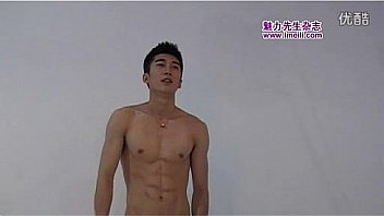 Chinese male muscle naked male