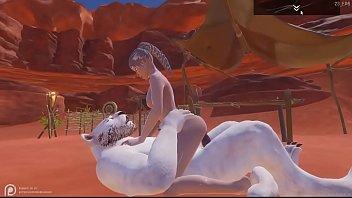 Wild Life Maya x Chakkar White Skin and Lightning Eyes