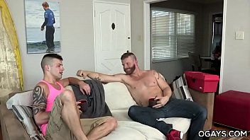 Spanking and fucking bisexual