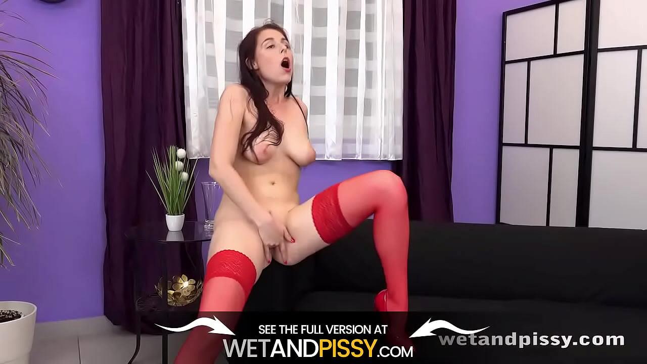 Antonia Sainz Anal Legal Porno antonia sainz piss her pants and drink it - xnxx