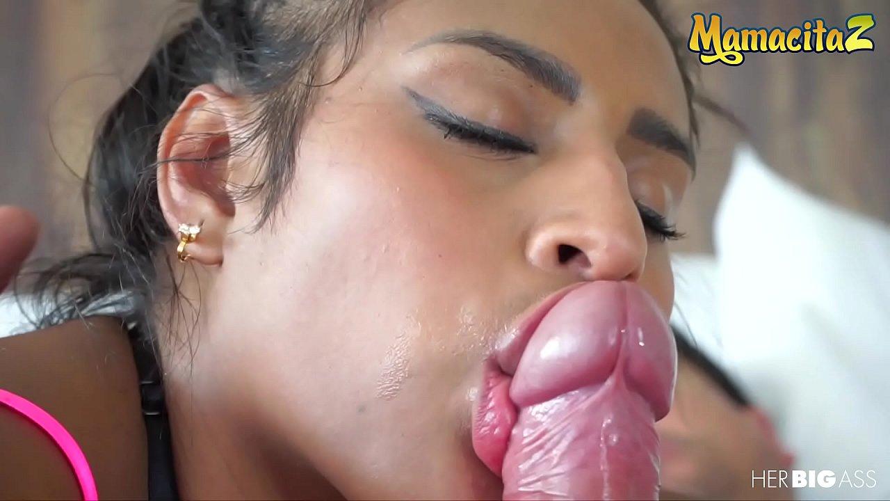 Thick Big Ass Latina Sucks Bbc