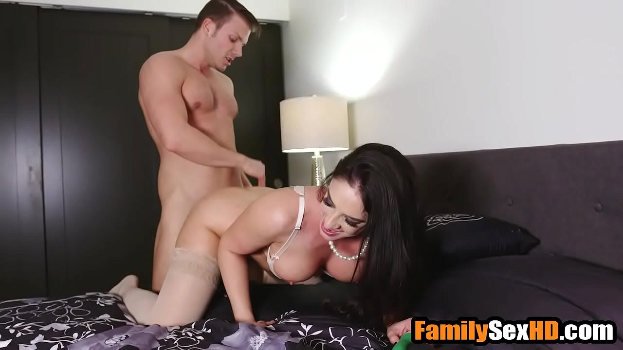 Step Son Fucks Mom Work