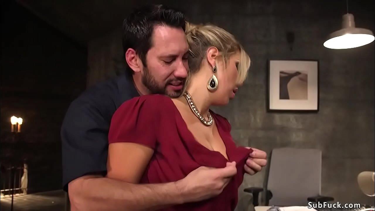Big Tit Blonde Lesbian Teacher