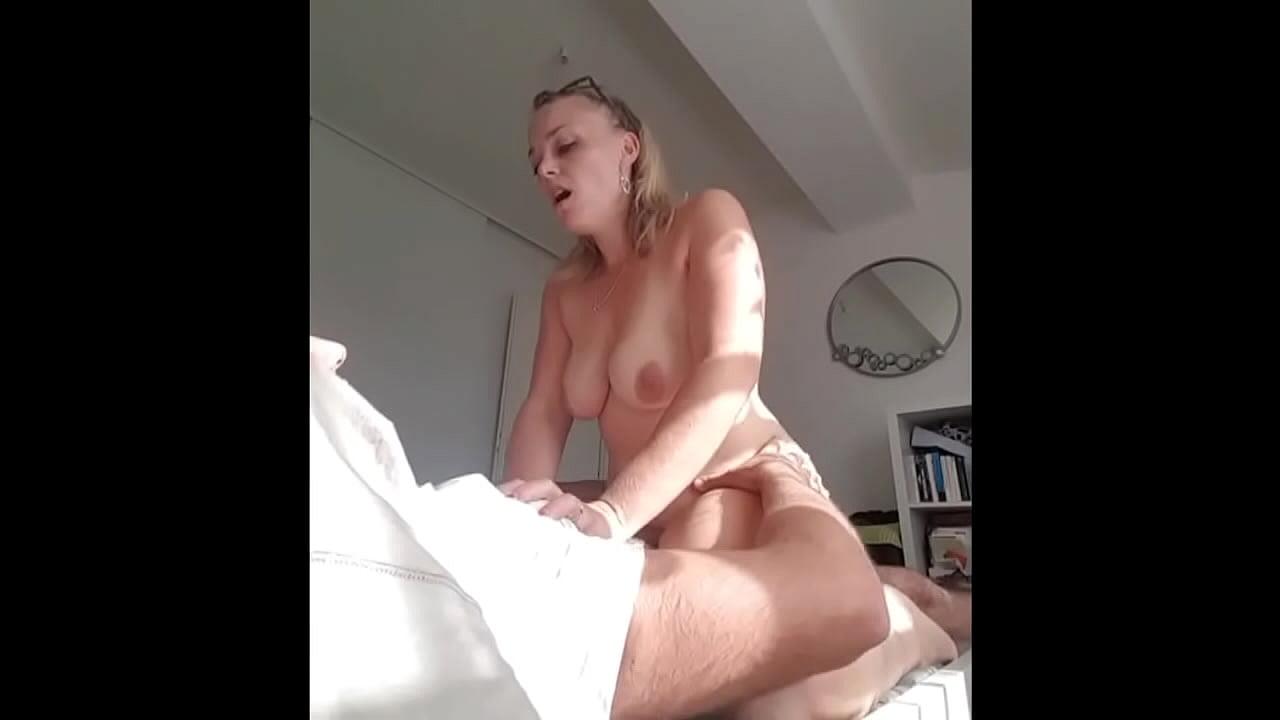 Black Girl Riding White Cock