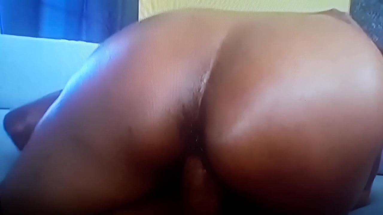 Big Booty Ebony Anal Dildo