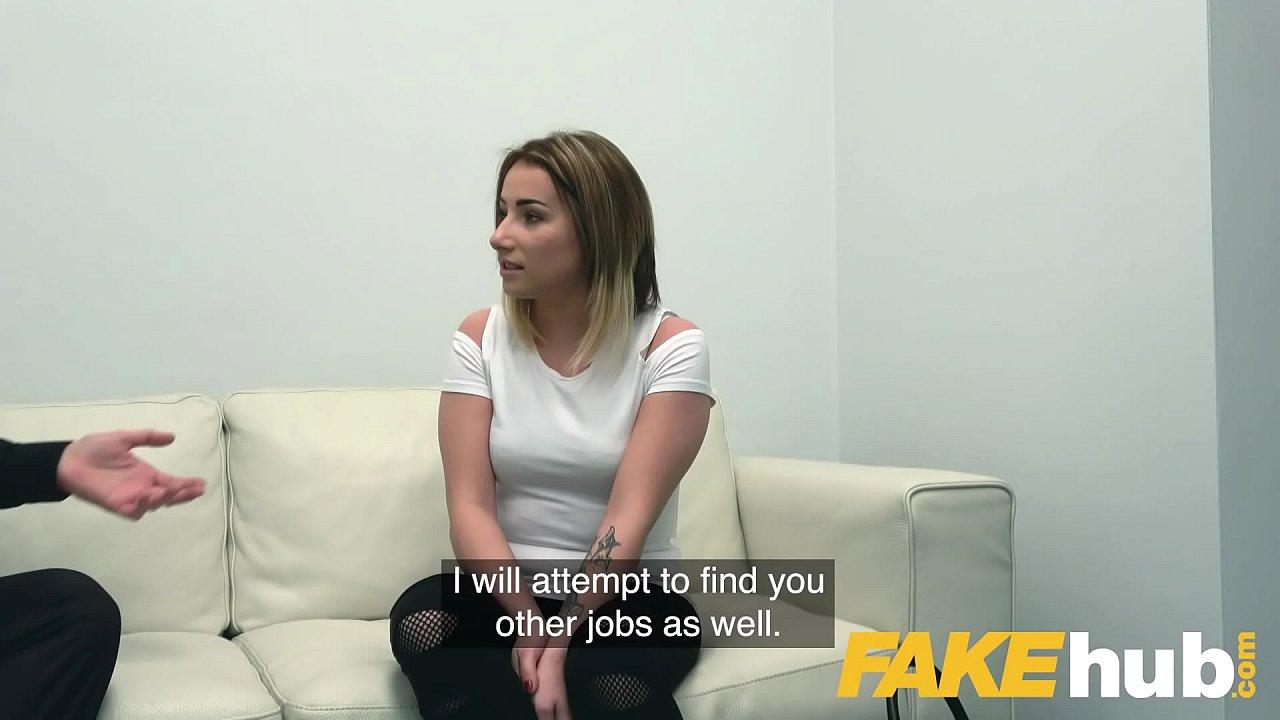 Fake Agent Uk Blonde Milf