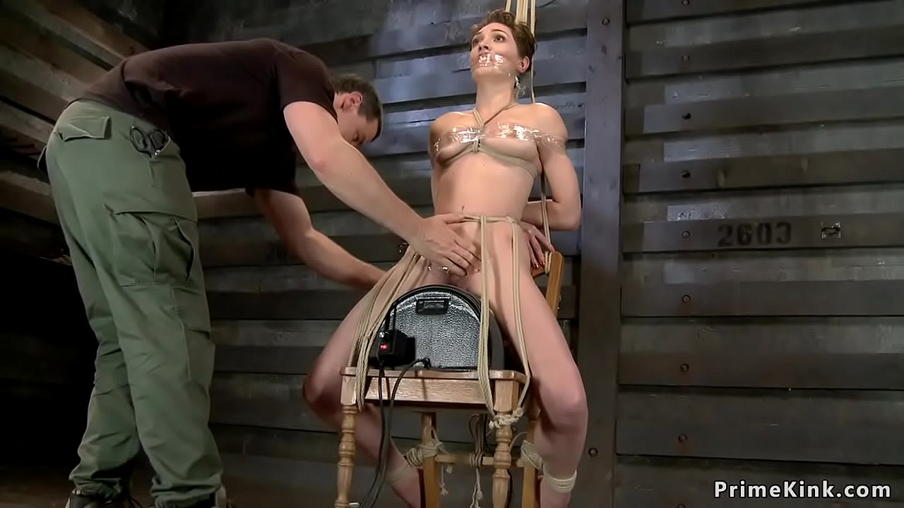 Sexy Girl Tied Up Fucked