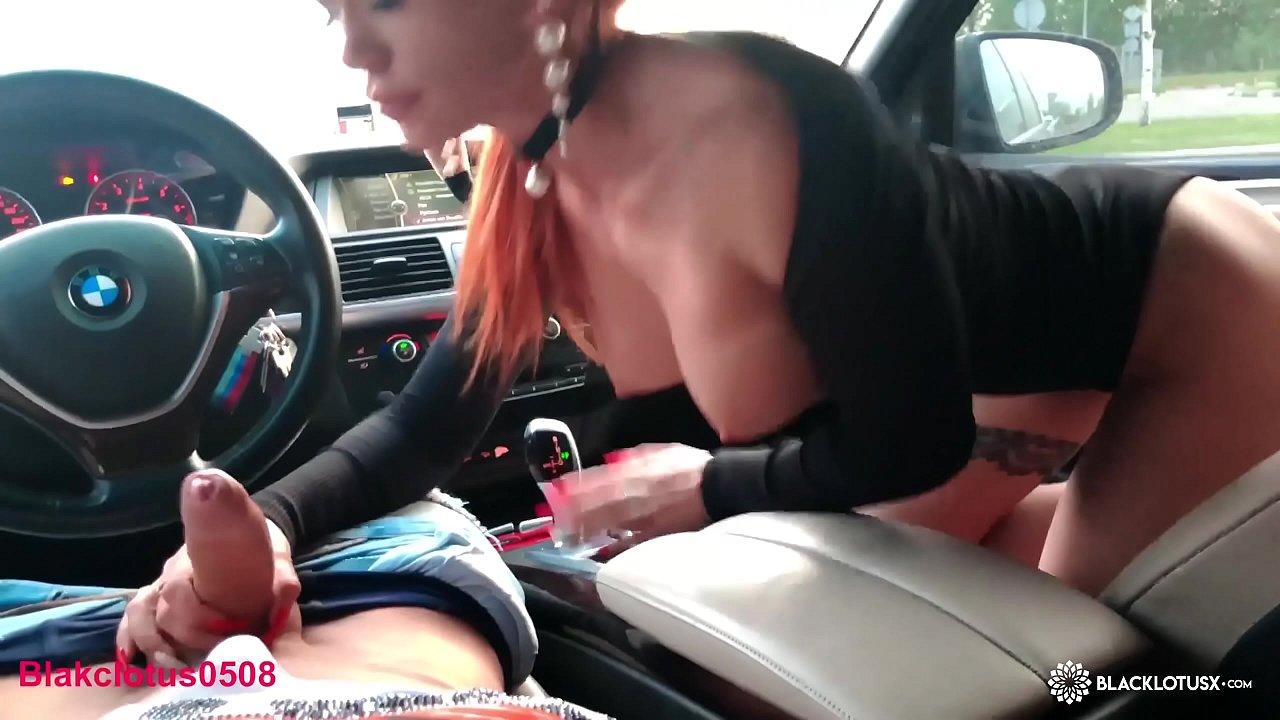 Ebony Hooker Car Blowjob
