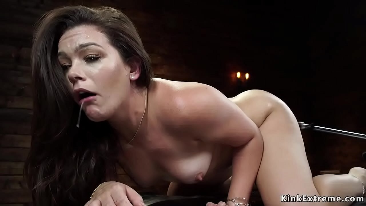 Busty Brunette Solo Orgasm