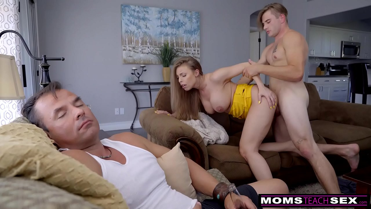 Step Mom Fucks Black Step Son
