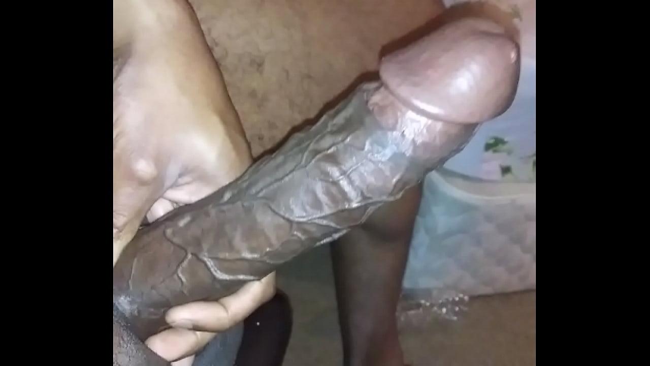Real big black penis