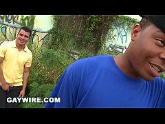 GAYWIRE - Cum Jack Off To Derek Jones and Mario On This Fun Episode Of Thug Hunter
