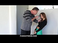 PunishTeens - Hot Step-Daughter Punished and Fucked After Partying
