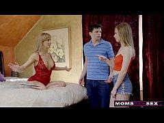 Anya Olsen Gives MILF Cherie Deville Mother's Day Threeway S8:E4