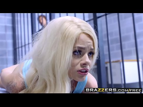 Brazzers - Brazzers Exxtra - Licking Locked Up scene starring Elsa Jean Riley Reid and Jean Val Jean