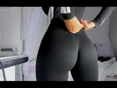 Blonde Black Yoga Pants