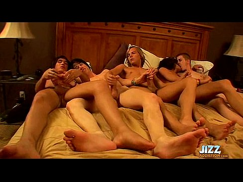 Twinks orgy video