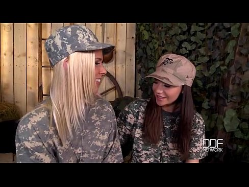 In uniform slut army