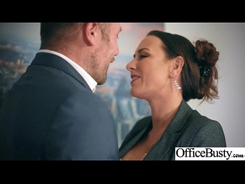 (Mea Melone) Girl With Round Big Tits In Hard Style Sex In Office clip-15