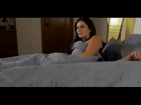 Mother came to wake up son with morning boner