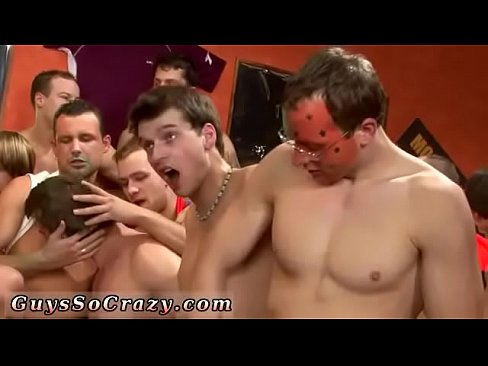 Worlds craziest orgy and masculine male gay porn stars have sex Watch