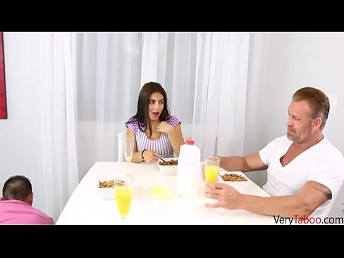 Daughter Makes Dad Fuck Her
