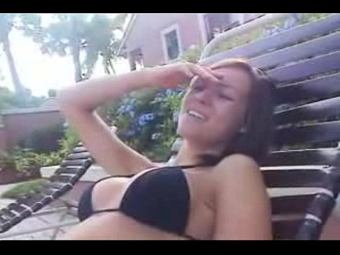 Girl getting fucked in pool