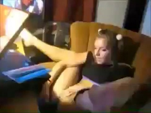 Solo girl squirts on her face