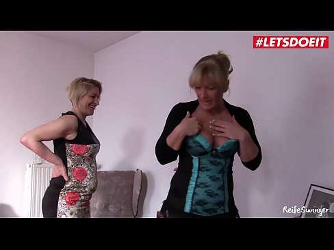 Mature German Couple Has Threesome Sex With Step Sister