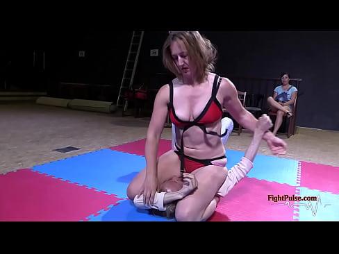 Wrestling femdom