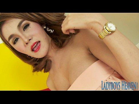 Sexy Asian shemale Barbara