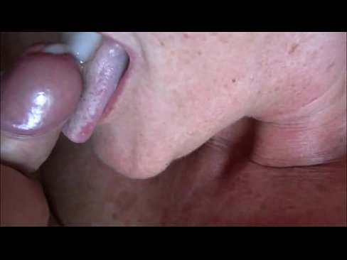 Real amateur granny blowjob