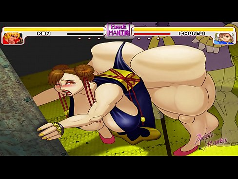 Street Fighter - Chun-Li Se Su Gigantesco Culo Jodido Por Ken - (Purplemantis)