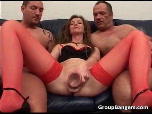 Hot sexy milf legs spread