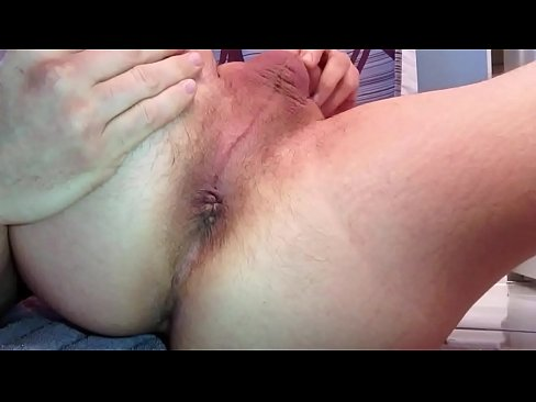 Wanked close to orgasm