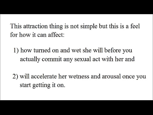 Make Her SUPER WET with these techniques