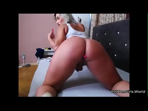 Ass blonde shemale