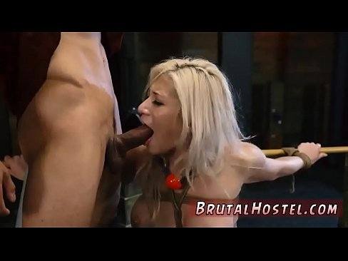 Extreme brutal first time Big-breasted blondie bombshell Cristi Ann