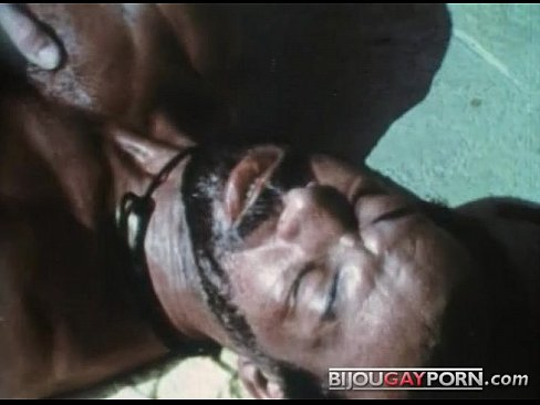 Scene from the First Gay Black Feature, MR. FOOTLONG'S ENCOUNTER (1973)