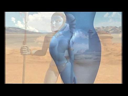star wars Aayla sexy video