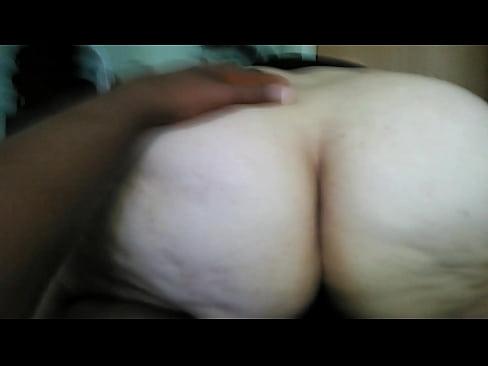 Bbw big ass riding backwards