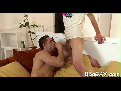 Superlatively good homo scene with sex raw scenes