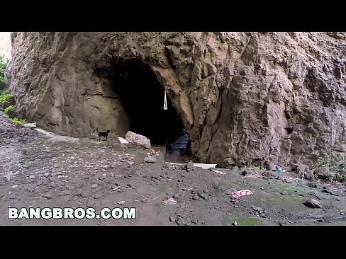 BANGBROS - MILF Aletta Ocean Anal Fucked In Cave, Gets Interrupted
