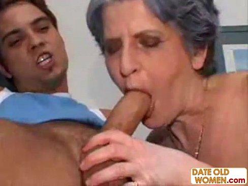 Finger fucking older woman