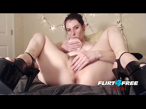 Flirt4Free - Barbie Wolf - Dirty Talking BDSM Babe Punishes Slave and Big Pussy