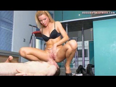 Mistress Nylon Feet Licking