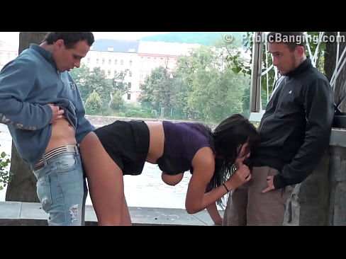 Public sex porn free video