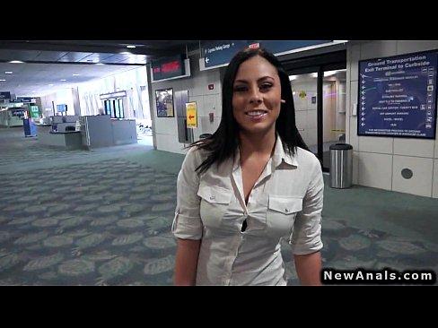 Busty girlfriend amateur anal porn POV
