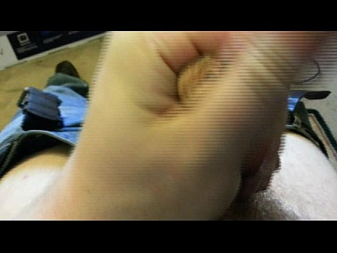 Stroking My Teen Uncut Cock